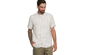 Eastlake Stripe Linen Shirt