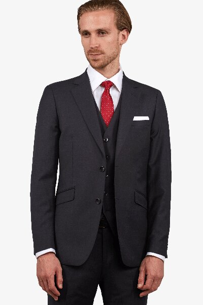 Hampton Charcoal Suit Jacket