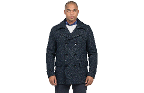 2401e7d993e Get the Dentay Peacoat in Navy Online - With free shipping. Barkers