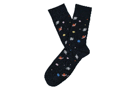 Neil Astronaut Sock