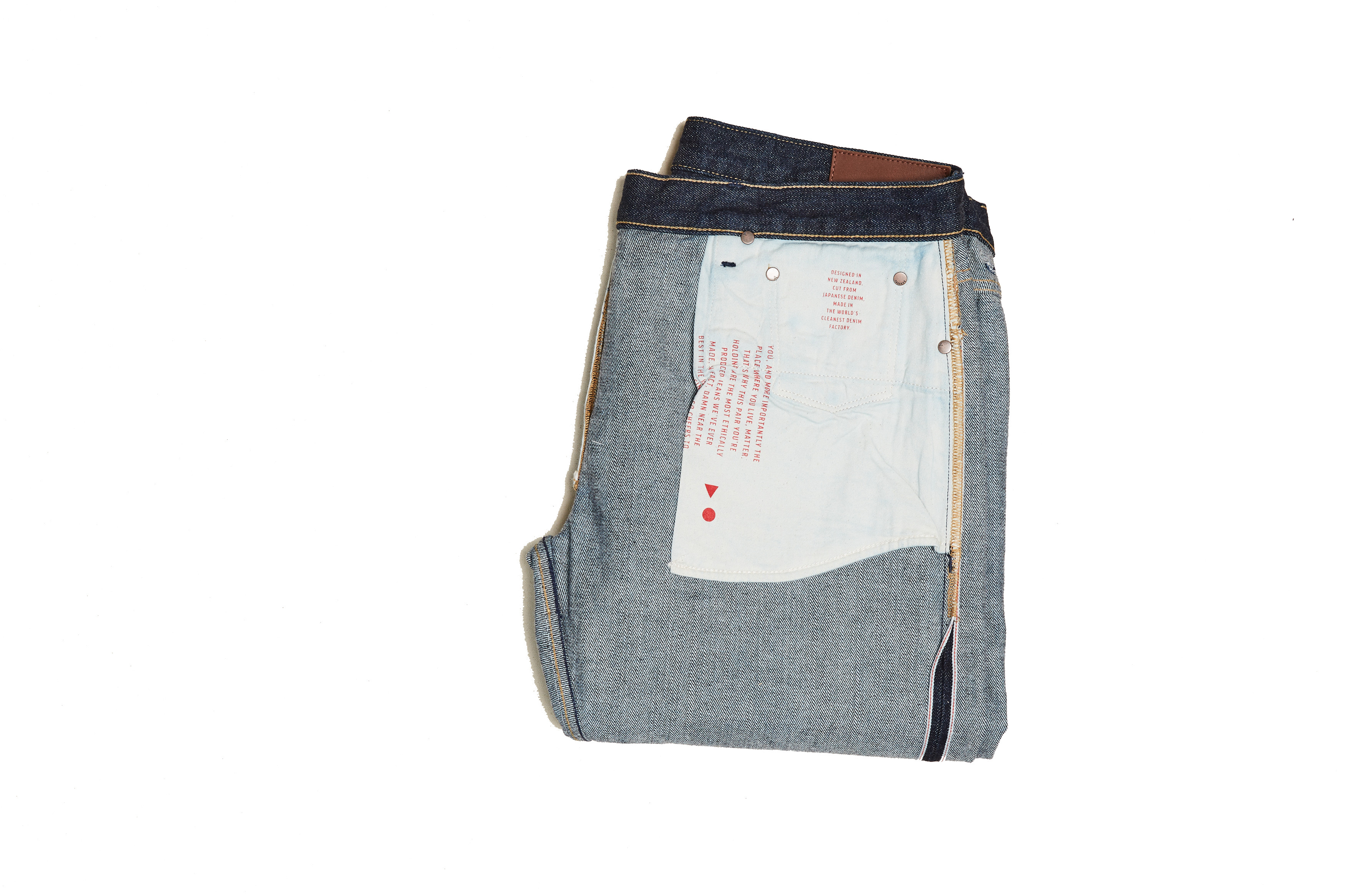 Japanese Selvedge Taper Jean