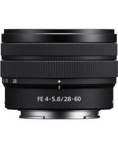 Sony FE 28-60mm F4 5.6 Lens from Camera Pro