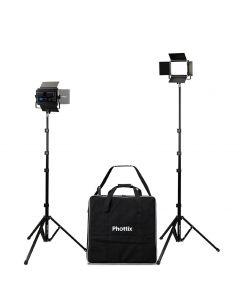Phottix Light LED Kali 50 Twin Kit from Camera Pro