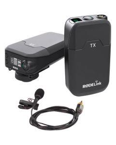 Rode RodeLink Wireless Filmmaker Kit - Lavalier Mic included from Camera Pro