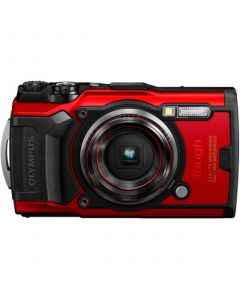 Olympus TG-6 Compact Tough Camera (Red) from Camera Pro