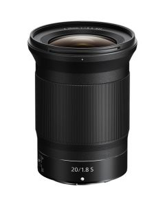 Nikon Nikkor Z 20mm f/1.8 S (Z-Mount) from Camera Pro