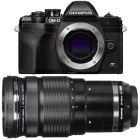 Olympus E-M10 Mark IV/4 Black Camera with M.Zuiko Pro 40-150mm f/2.8 Lens from Camera Pro