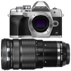 Olympus E-M10 Mark IV/4 Silver Camera with M.Zuiko Pro 40-150mm f/2.8 Lens from Camera Pro