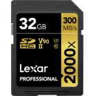 Lexar Professional 2000X SDHC UHS-II 32GB SD Card from Camera Pro