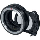 Canon Drop-In Filter Mount Adapter EF-EOS R with Circular Polariser Filter from Camera Pro