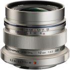 Olympus M.Zuiko ED 12mm f/2 Lens - Silver from Camera Pro
