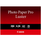 Canon Photo Paper Pro Luster A2 (25 sheets) from Camera Pro