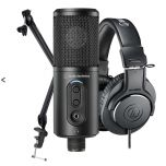 Audio-Technica Creator Pack from Camera Pro