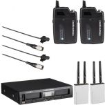 Audio-Technica System 10 PRO ATW-1311/L KIT Wireless Lapel Microphone System Twin Pack from Camera Pro