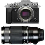 Fujifilm X-T4 Silver Camera Kit with XF 50-140mm lens from Camera Pro