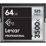 Lexar Professional 3500x 64GB  Cfast 2.0 Card from Camera Pro