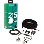 Shure SE215SPE-W-UNI White Sound Isolating™ Earphones Hear It All. from Camera Pro