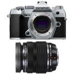 Olympus OM-D E-M5 Mark III Silver Camera Kit with 12-40mm f/2.8 Pro Lens from Camera Pro