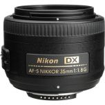 Nikon AF-S NIKKOR 35mm f/1.8G DX Lens from Camera Pro