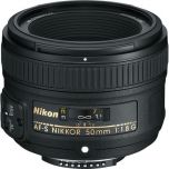 Nikon 50mm f/1.8G Nikkor Lens from Camera Pro