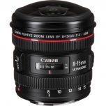 Canon EF 8-15mm f4.L Fisheye USM Lens from Camera Pro