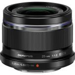 Olympus M.Zuiko 25mm f/1.8 Lens - Black from Camera Pro