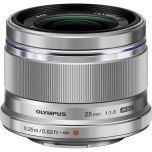 Olympus M.Zuiko 25mm f/1.8 Lens - Silver from Camera Pro