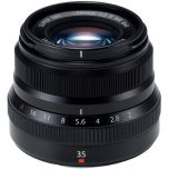 Fujifilm XF 35mm f/2 R WR Lens Black from Camera Pro