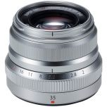 Fujifilm XF 35mm f/2 R WR Lens Silver from Camera Pro