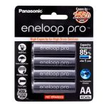Panasonic Rechargeable Eneloop Pro AA Battery - 4 Pack from Camera Pro