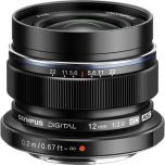Olympus M.Zuiko ED 12mm f/2 Lens - Black from Camera Pro