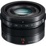 Panasonic Leica DG Summilux 15mm f/1.7 ASPH Lens from Camera Pro
