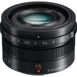 Ex Display - Panasonic Leica DG Summilux 15mm f/1.7 ASPH Lens - Black from Camera Pro