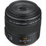 Panasonic Leica DG Macro-Elmar 45mm f/2.8 ASPH Mega OIS Macro Lens - Ex Display Stock from Camera Pro