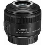 Canon EF-S 35mm f2.8 Macro Lens w/ Macro Lite from Camera Pro