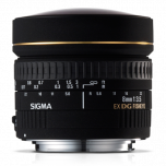 Sigma 8mm f/3.5 EX DG Fisheye Lens for Canon Mount from Camera Pro