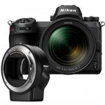 Nikon Z6 Mirrorless Camera with NIKKOR Z 24-70mm f/4 S and Mount Adapter FTZ from Camera Pro