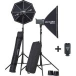 Elinchrom D-Lite RX4/RX4 Softbox To Go Set from Camera Pro