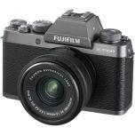 Ex-Display Fujifilm X-T100 Dark Silver Camera w 15-45mm lens from Camera Pro