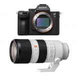 Sony Alpha a7III with Sony Zeiss 70-200mm GM Lens from Camera Pro