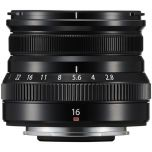 Fujifilm Lens XF16mmF2.8 R WR Black from Camera Pro