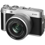 Fujifilm X-A7 Camera w/ XC 15-45mm f/3.5-5.6 OIS PZ Lens (Silver) from Camera Pro