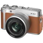 Fujifilm X-A7 Camera w/ XC 15-45mm f/3.5-5.6 OIS Lens (Camel Silver) from Camera Pro