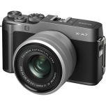 Fujifilm X-A7 Camera w/ XC 15-45mm f/3.5-5.6 Lens (Dark Silver) from Camera Pro