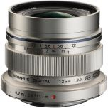 Olympus M.Zuiko ED 12mm f/2 Lens - Silver from Camera Pro
