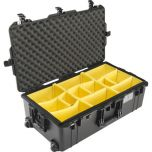 Pelican Case 1615 Air Black Wheeled With Padded Dividers from Camera Pro