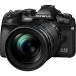 Olympus OM-D E-M1 Mark III Black w/12-100mm f/4 PRO Lens from Camera Pro
