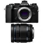 Olympus OM-D E-M5 Mark III Black Camera Kit with 12-45mm f/4 Lens from Camera Pro
