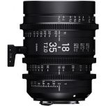 Sigma 18-35mm T2 Cine Lens - Canon EF Mount from Camera Pro