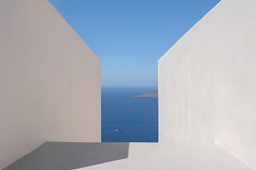 A view of the sea, taken with Fujifilm X-Pro3
